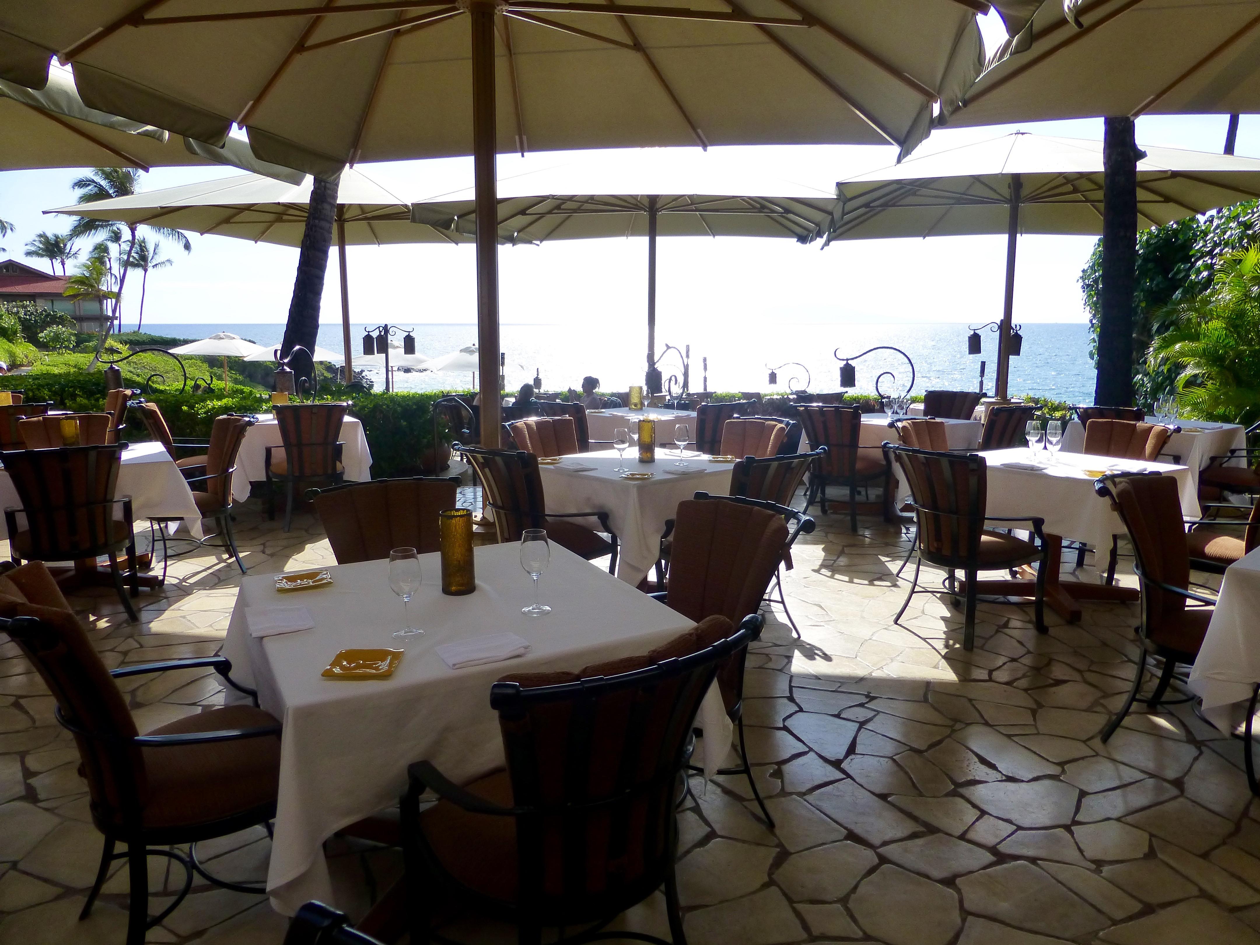 The Beachfront Restaurant At Four Seasons Maui