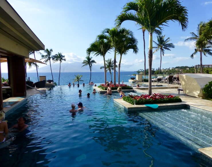 Infinity Pool at Four Seasons Maui.