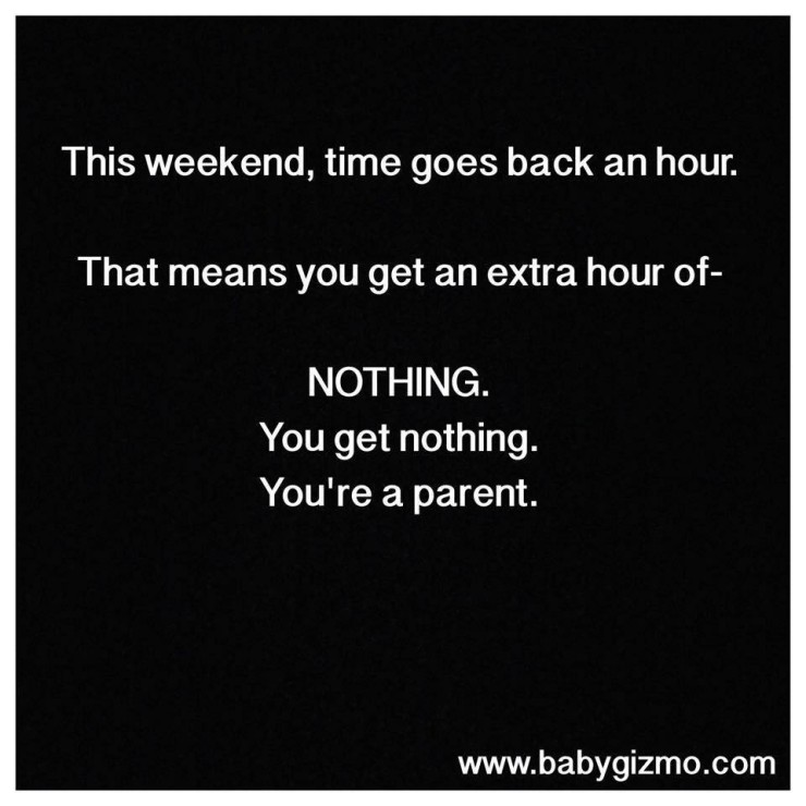 Who Needs An Hour Stealing Time In Motherhood