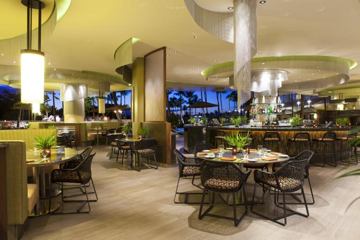 Dining at Ko Restaurant on Maui