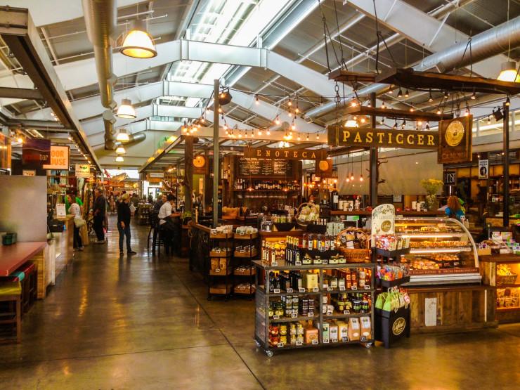 Oxbow Public Market in Napa