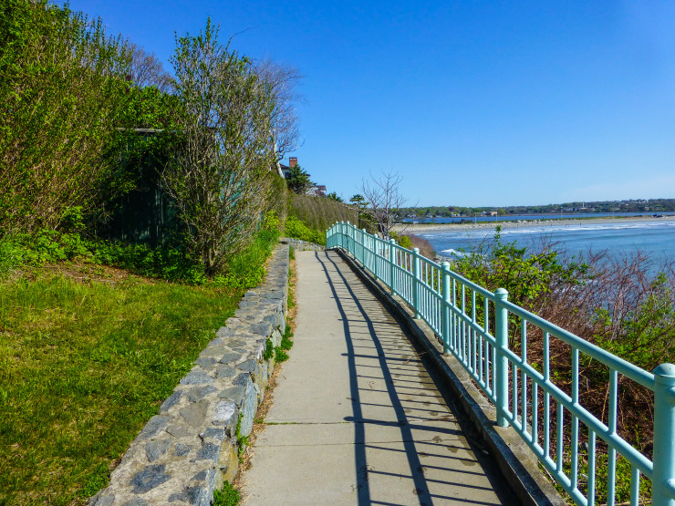 Newport's scenic Cliff Walk