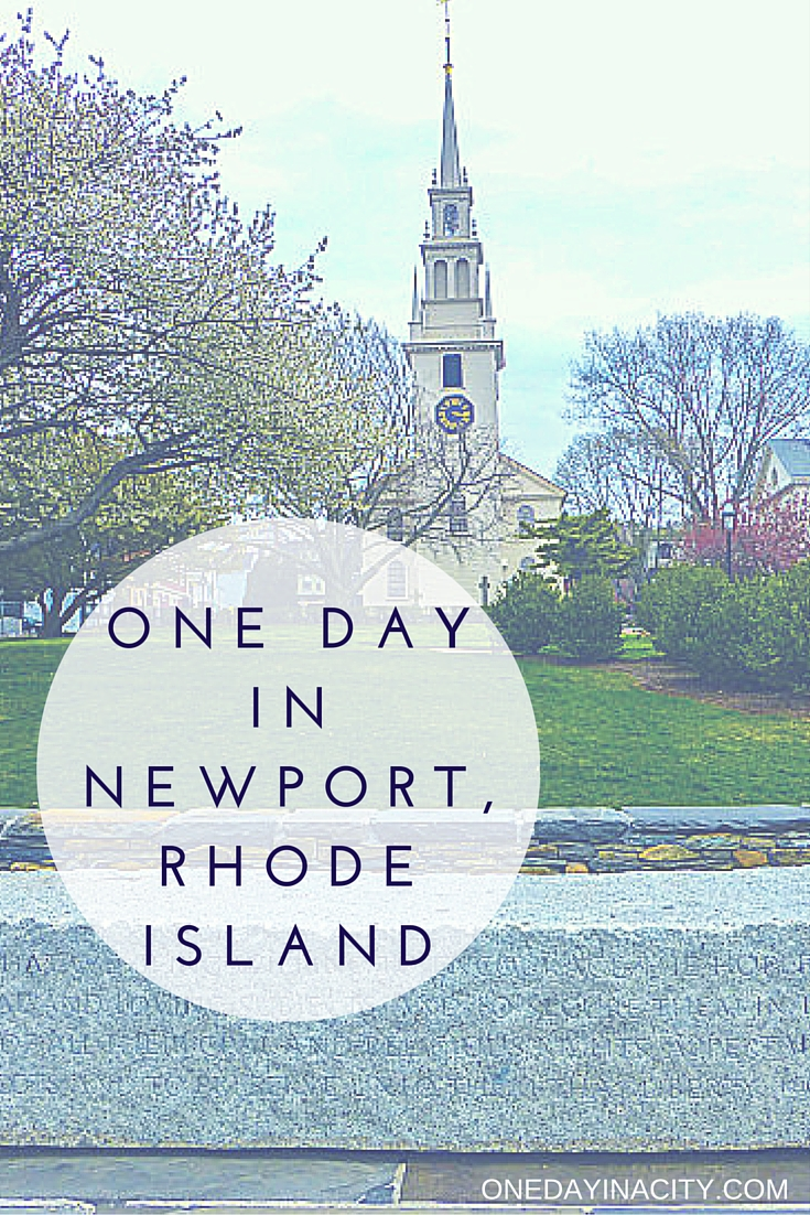 One Day in Newport: What to see, do, and eat in Newport, Rhode Island when short on time.