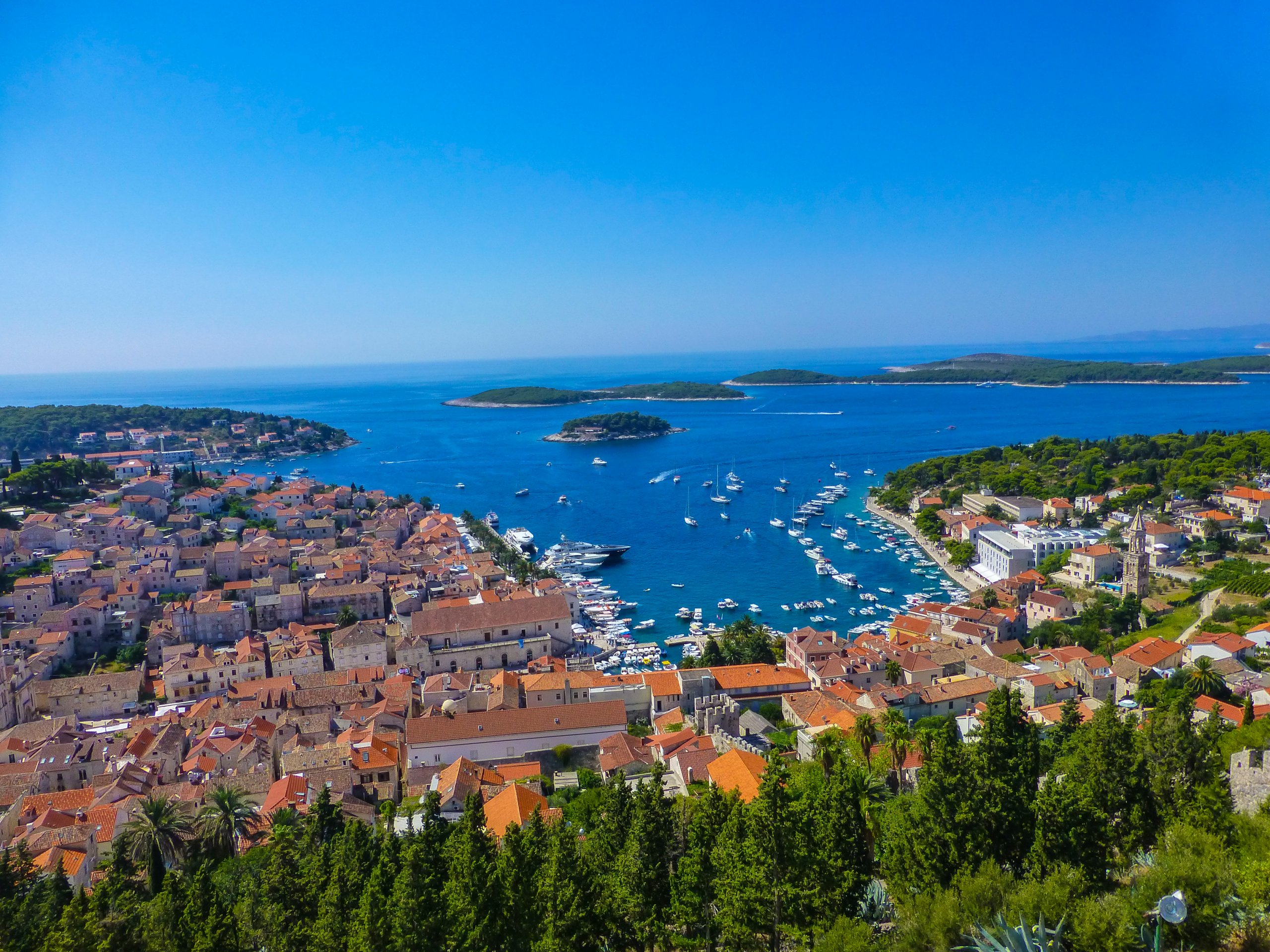 One Day in Hvar, Croatia