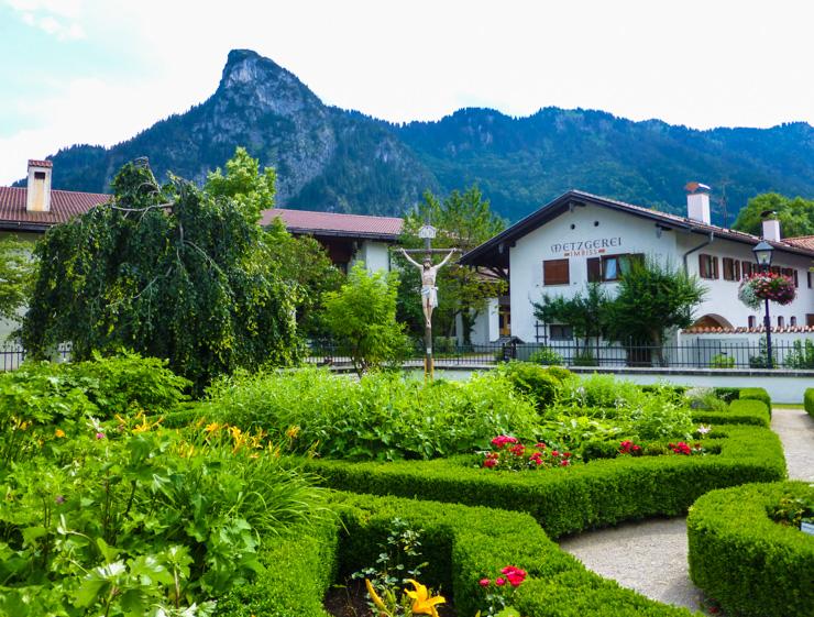Park in Oberammergau, Germany