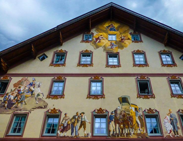 Mittenwald, Germany Frescoed Building