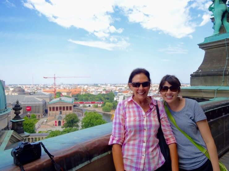 Enjoying the view atop Berliner Dom.