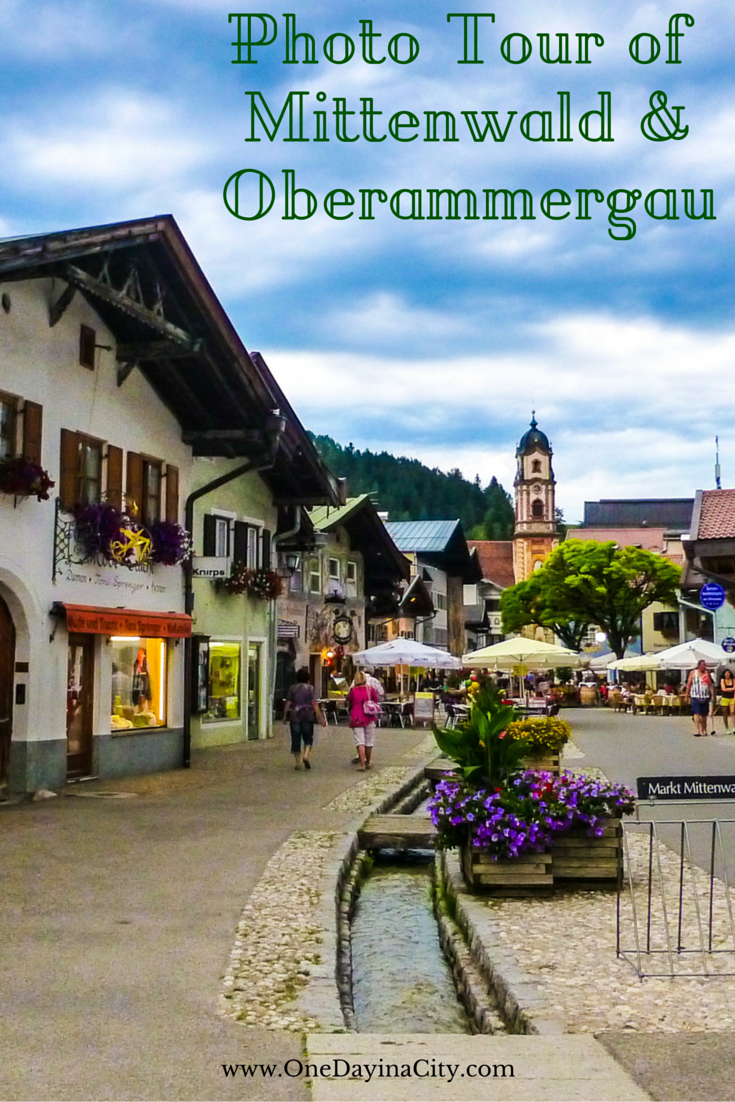 Photo tour of Mittenwald and Oberammergau in Bavaria, Germany