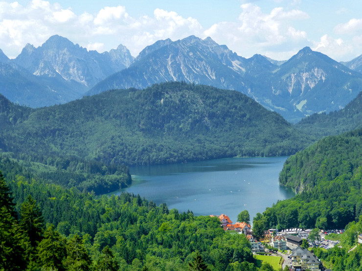 Lake in Bavaria