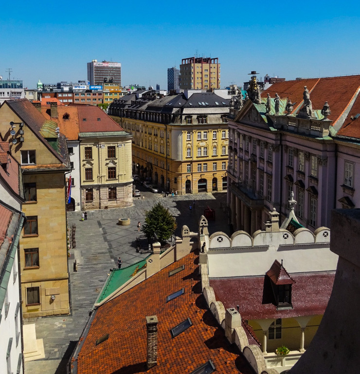Bratislava -- a romantic European city to get lost in.