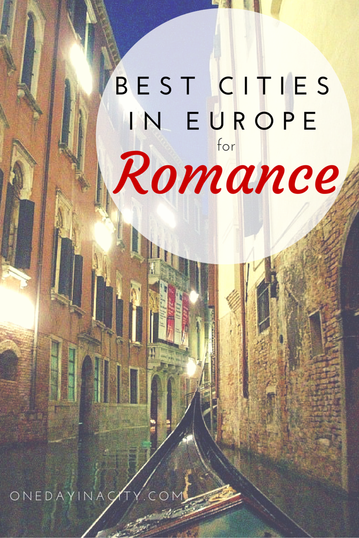 Wondering where to travel to in Europe for a romantic vacation? Check out this list of European cities perfect for romance.