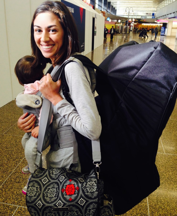 Flying Alone with a Baby: What I Love and Hate