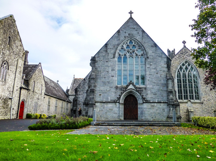 Holy Trinity Abbey Church in Adare, Ireland