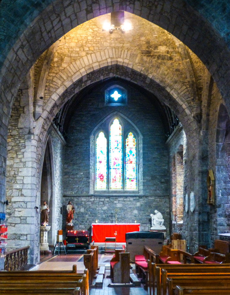 Holy Trinity Abbey Church in Adare