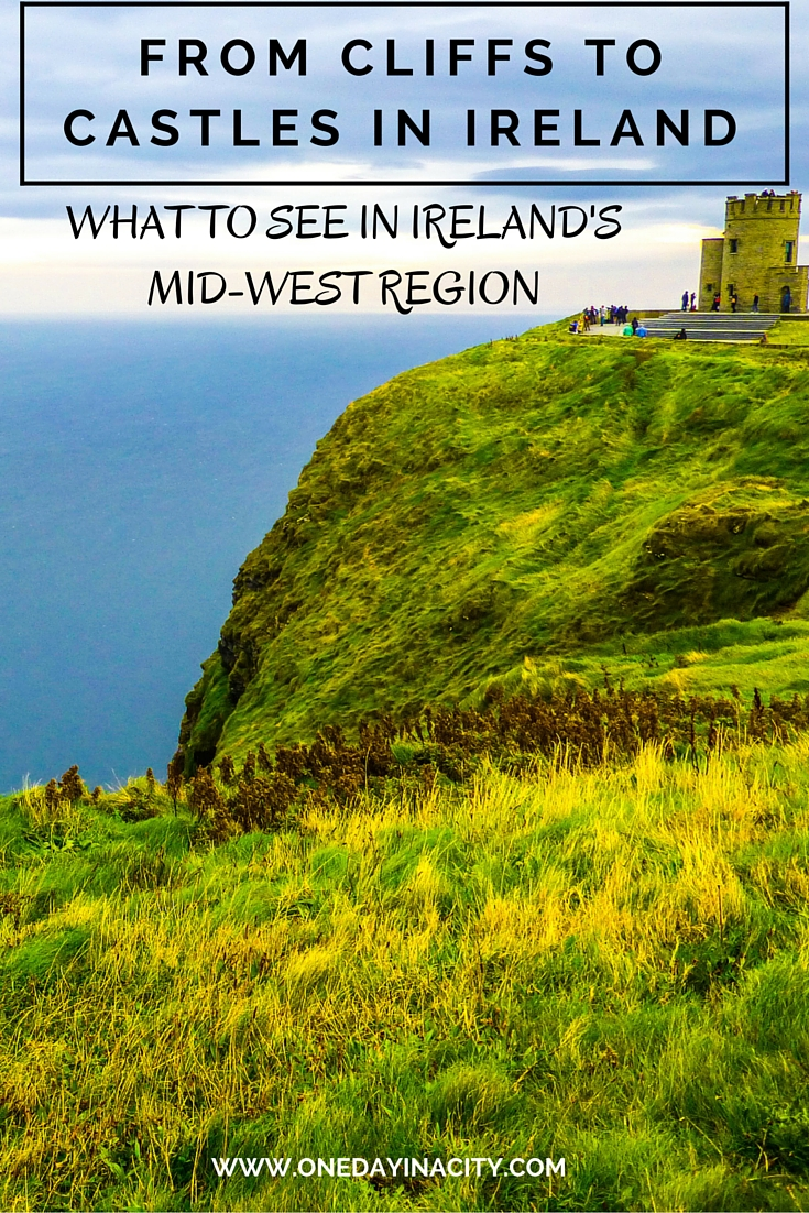 From the Cliffs of Moher to castles to coffee (with whiskey!), there is a lot to see and do in the midwest region of Ireland. Here are the top travel highlights and why you don't want to miss the gorgeous part of Ireland.