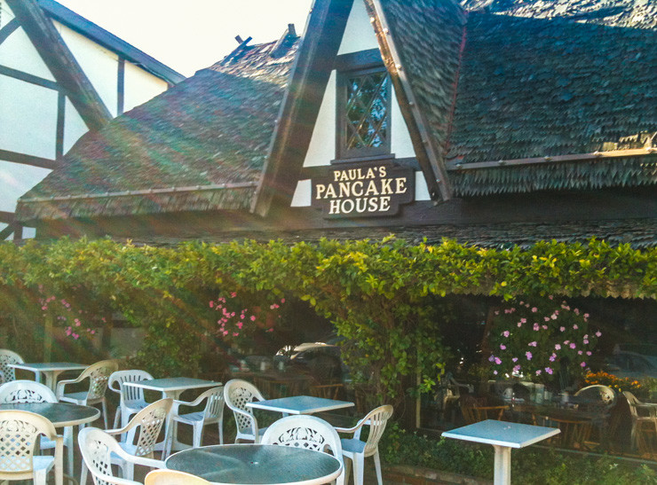 Paula's Pancake House in Solvang, California