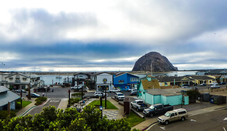 Morro Bay: A California city that feels more like a fishing village.