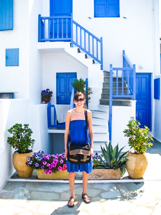 Traveling in Mykonos