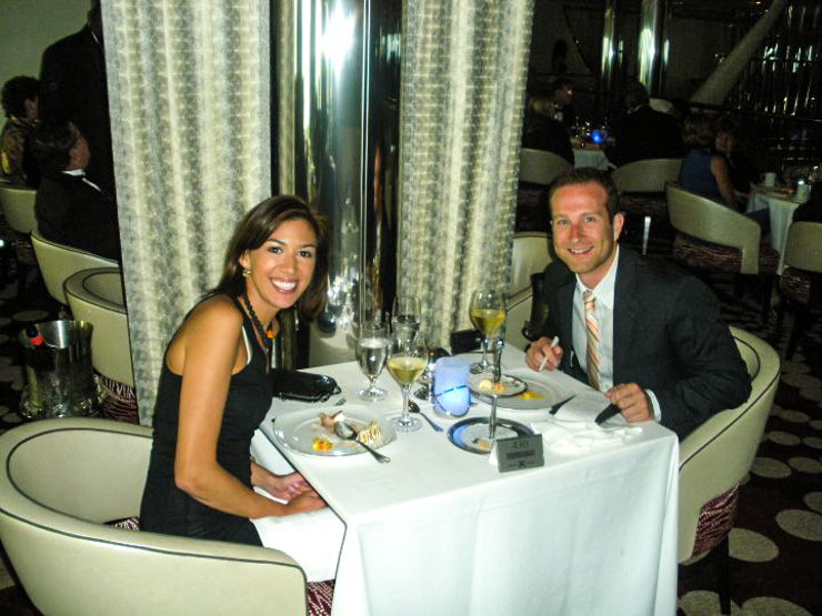 Formal dining can be fun! But if you don't like that, choose a cruise line that has a casual dress code.