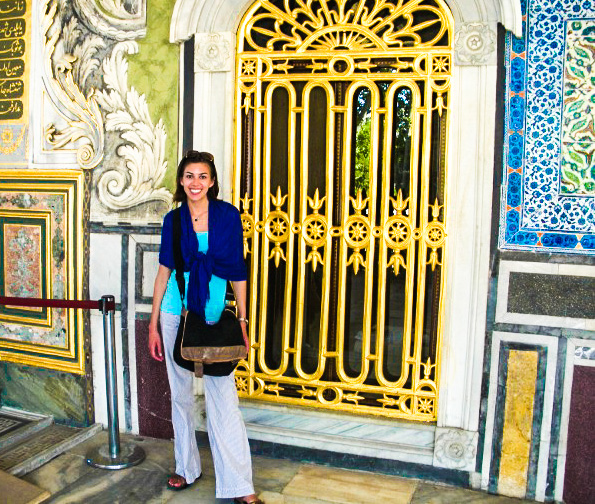 Comfortable shoes, lightweight pants, cross-body bag, and one more important item meant I was all set for exploring Istanbul the day my cruise was in port there.