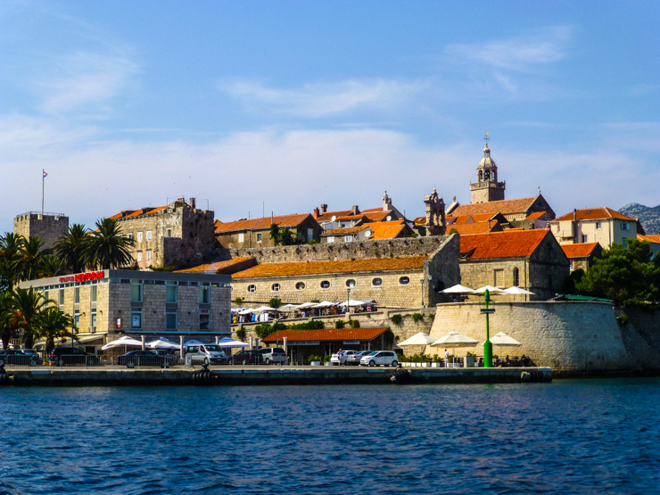Make sure you arrive on the right side of Korcula Island.