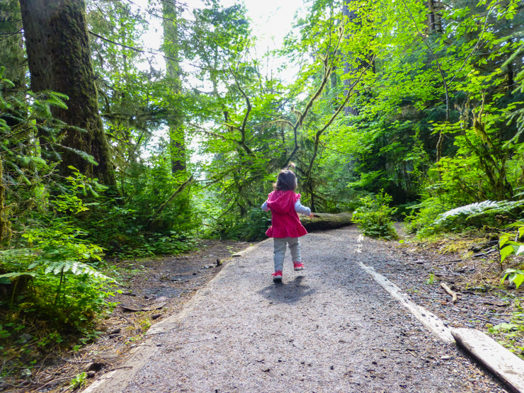 The girl just wants to run! With trails like this, who can blame her?