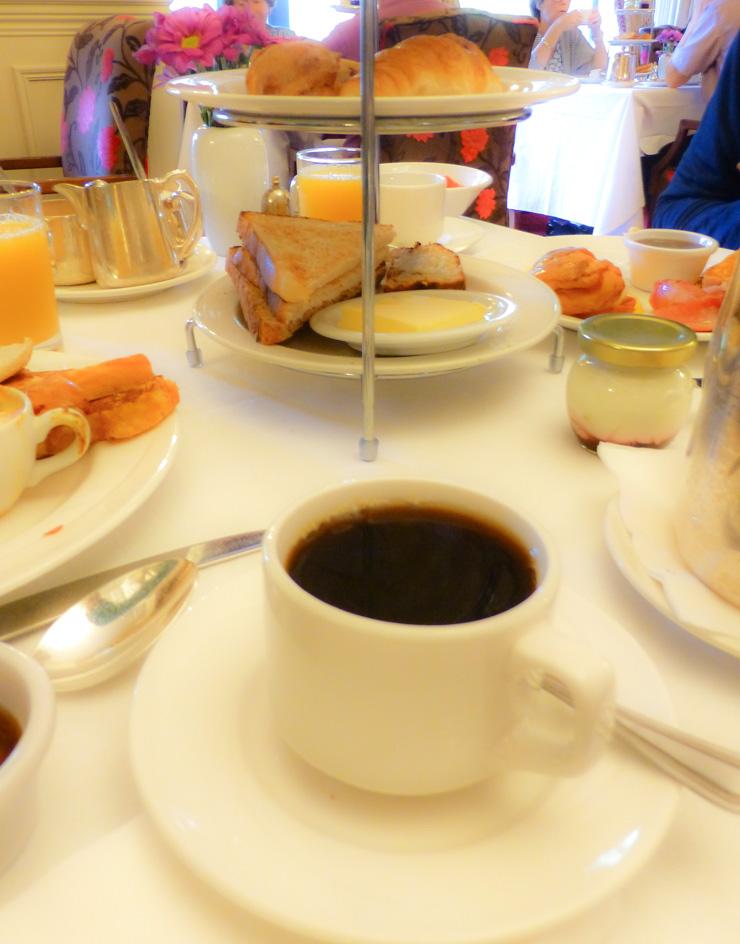 Delicious breakfast at Muckross Park Hotel.
