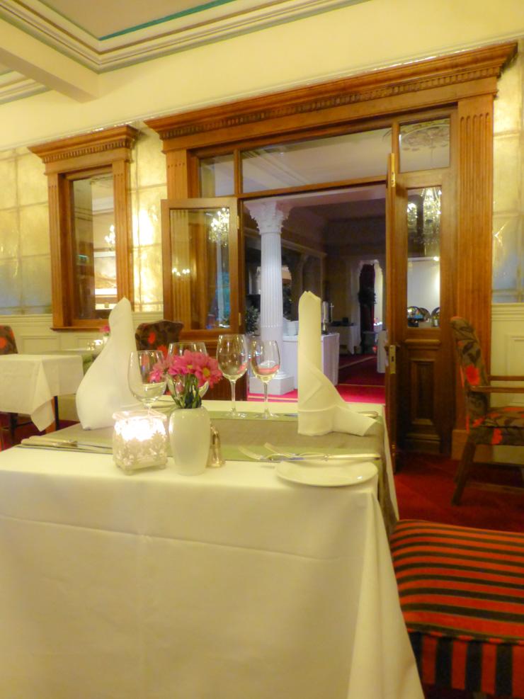 Dining room at Muckross Park Hotel and Spa in Killarney