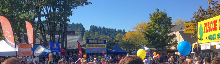 Food, food, and more food. Salmon Days is my kind of festival.
