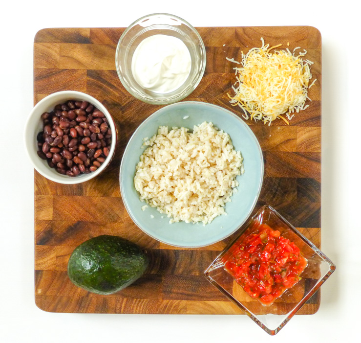 Burrito Bowls: My Easy and (Fairly) Healthy Go-To Meal