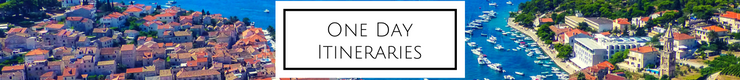 "Click on the ""One Day Itineraries"" image above to see all my travel guides for how to best spend a day in destinations all around the world."