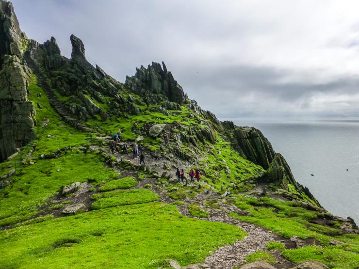 Skellig Michael in Ireland