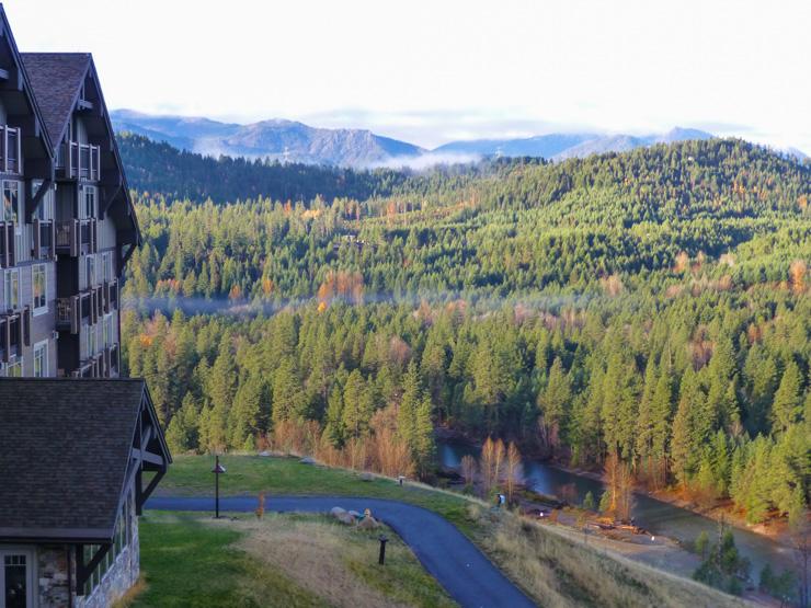 Suncadia Resort in Cle Elum, Washinton amidst the Cascade Mountains