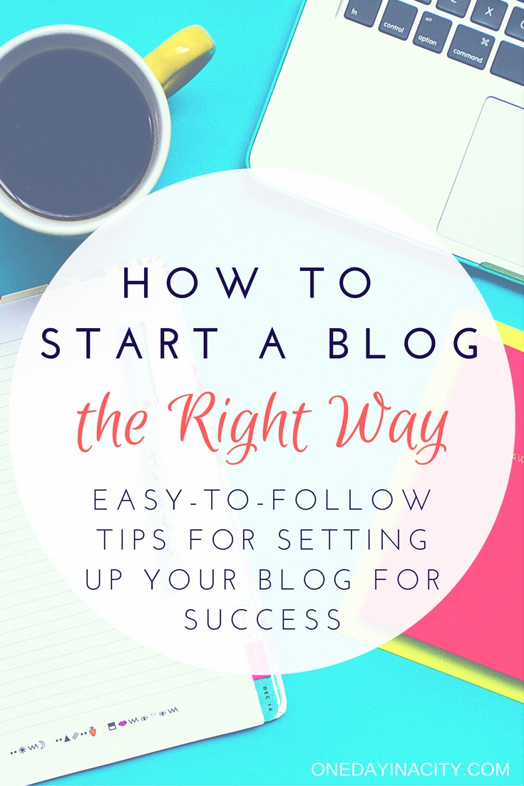 Starting a blog? I've turned my blog into a successful platform that brings me income and amazing opportunities. Here are my easy-to-implement steps to start your blog the RIGHT way so you are ready for success straight from the beginning.
