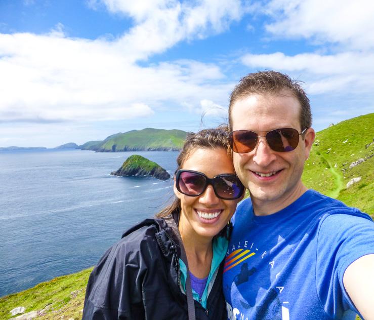 Couple time along the west coast of Ireland.