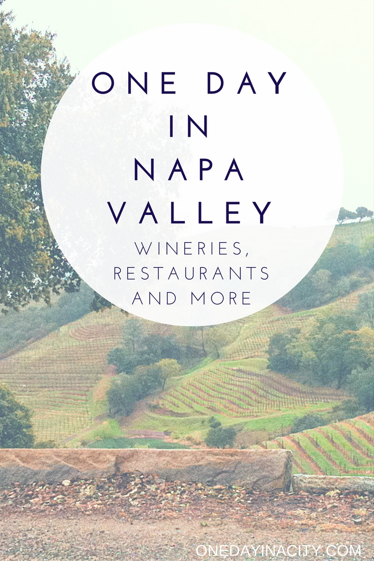 Short on time in Napa Valley? Here are some travel tips on the best wineries to wine taste at, top restaurants to eat at, where to sleep, and other tips for what to do while exploring Napa Valley in one day.