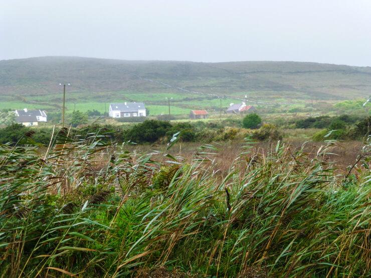 Rugged, wild landscape awaits you on Valentia Island.