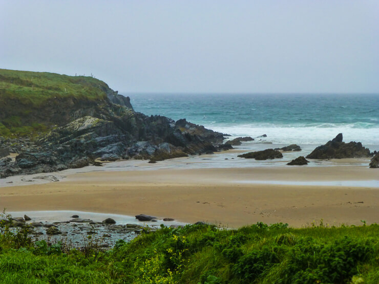 Scenery from the coastal loop drive of the Ring of Kerry.
