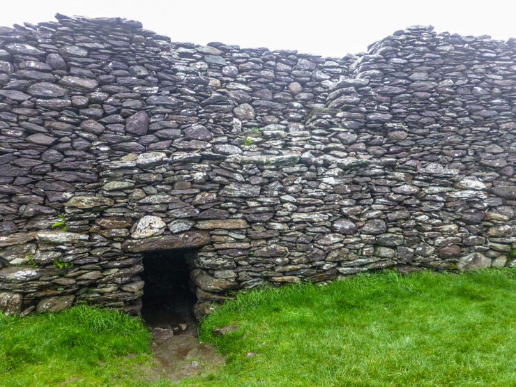 You can walk around the inside of Staigue Fort.