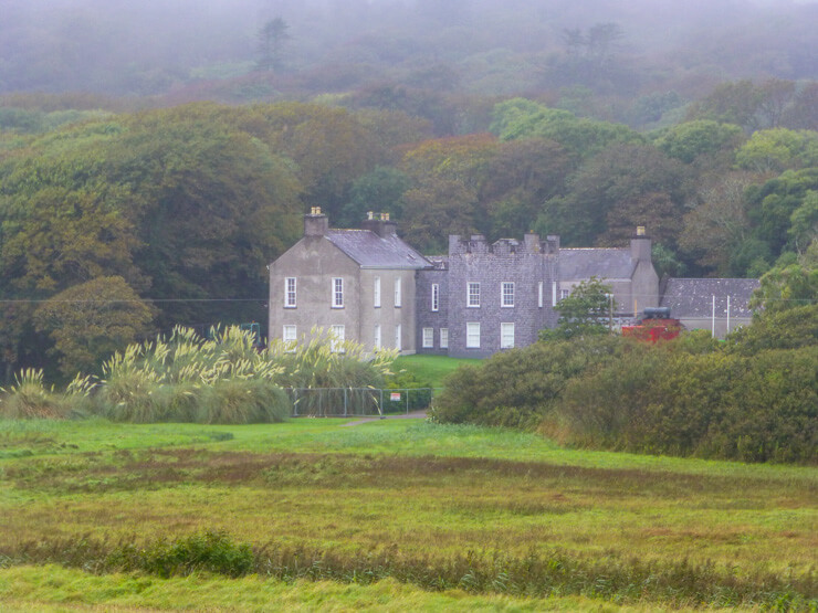 Derrynane House: one of the stops along the Ring of Kerry drive.