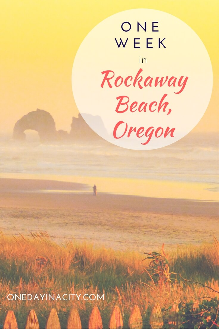 Travel Guide for Rockaway Beach: A helpful travel itinerary for how to spend a relaxing and fun week in and around Rockaway Beach, located along the Oregon Coast. Includes day trip tips for Cannon Beach, Tillamook, and more, plus how to best enjoy the laidback beach lifestyle of Rockaway Beach.