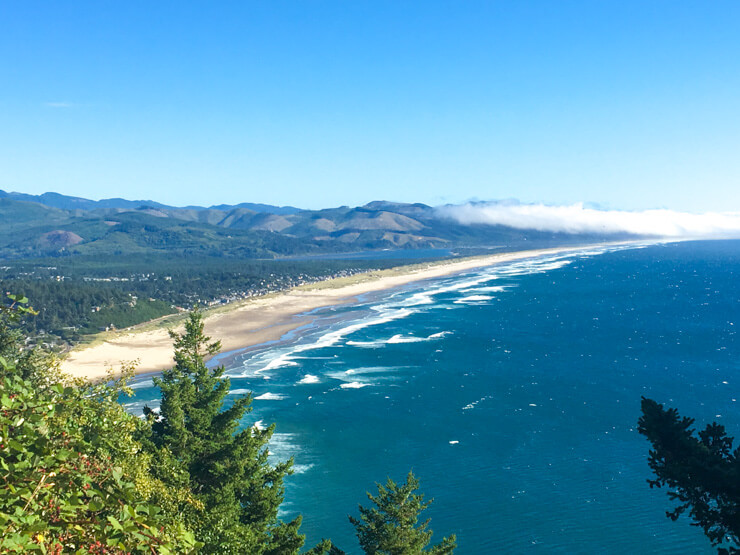 View of the Oregon Coast