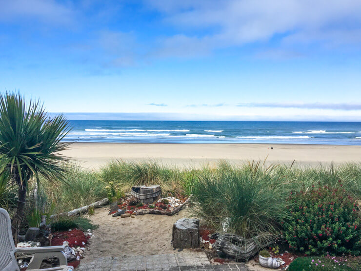 Rockaway Beach Oregon has many vacation rental options.