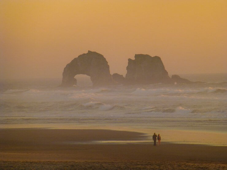 One Week in Rockaway Beach, Oregon
