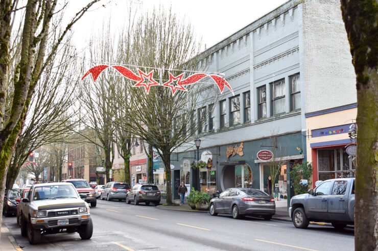 3rd Street in McMinnville