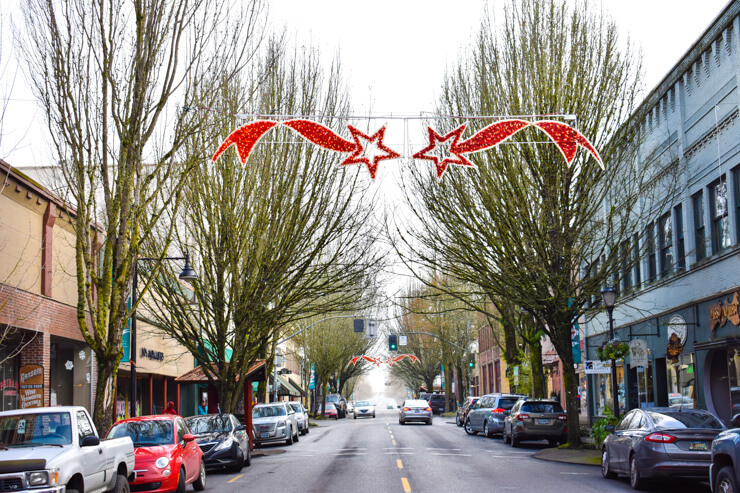 Downtown McMinnville, Oregon