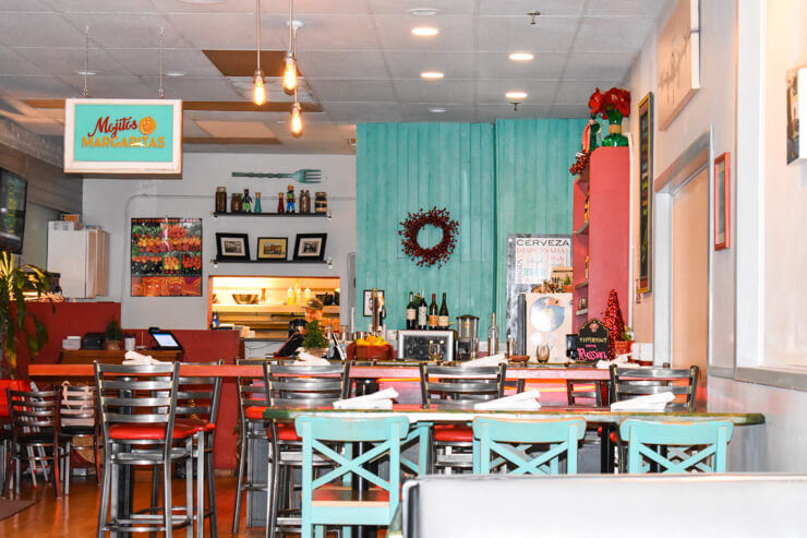 Eclectic decor and good food at Pura Vida in McMinnville