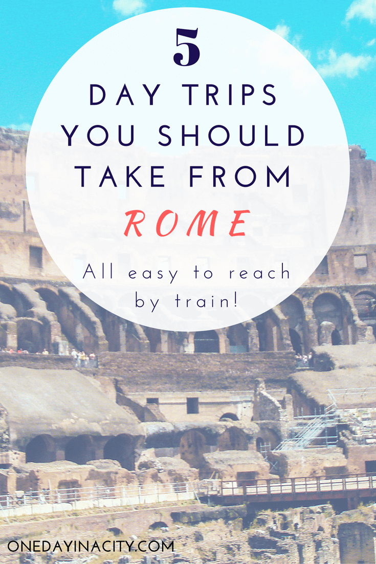 5 Day Trips You Should Take from Rome -- See more of Italy!