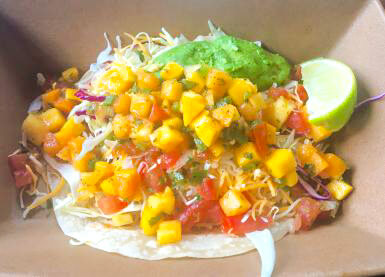 Delicious Fish Taco with Mango Salsa