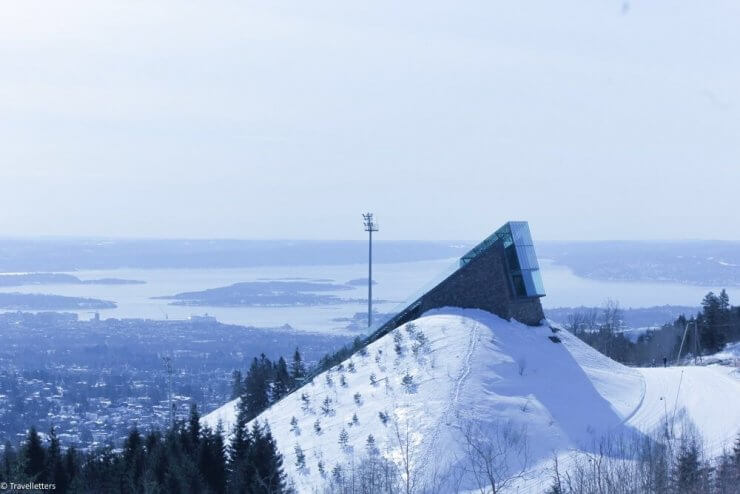 Photo of the view from Holmenkollen